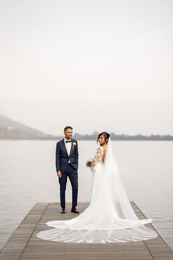 Foto matrimonio a Ristorante Piccolo Lago, Verbania - by Photo27
